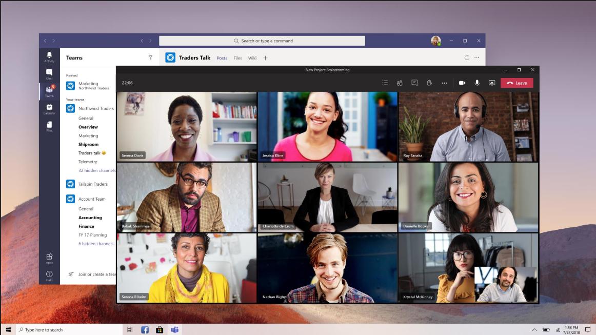 Microsoft Teams juni 2020